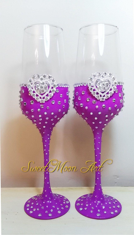 Copas para boda, flautas champagne bodas, flautas para brindar ...