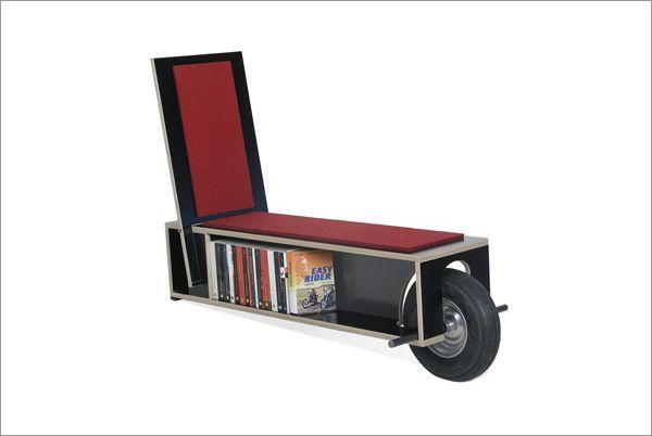 Portable Mobile Bookshelf By Nils Holger Moormann Easy Reader