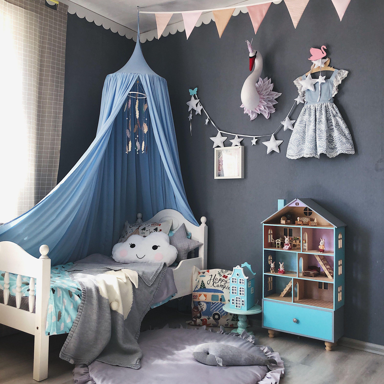 Bed Canopy Play Canopy Sky Blue Sky Blue Nursery Canopy