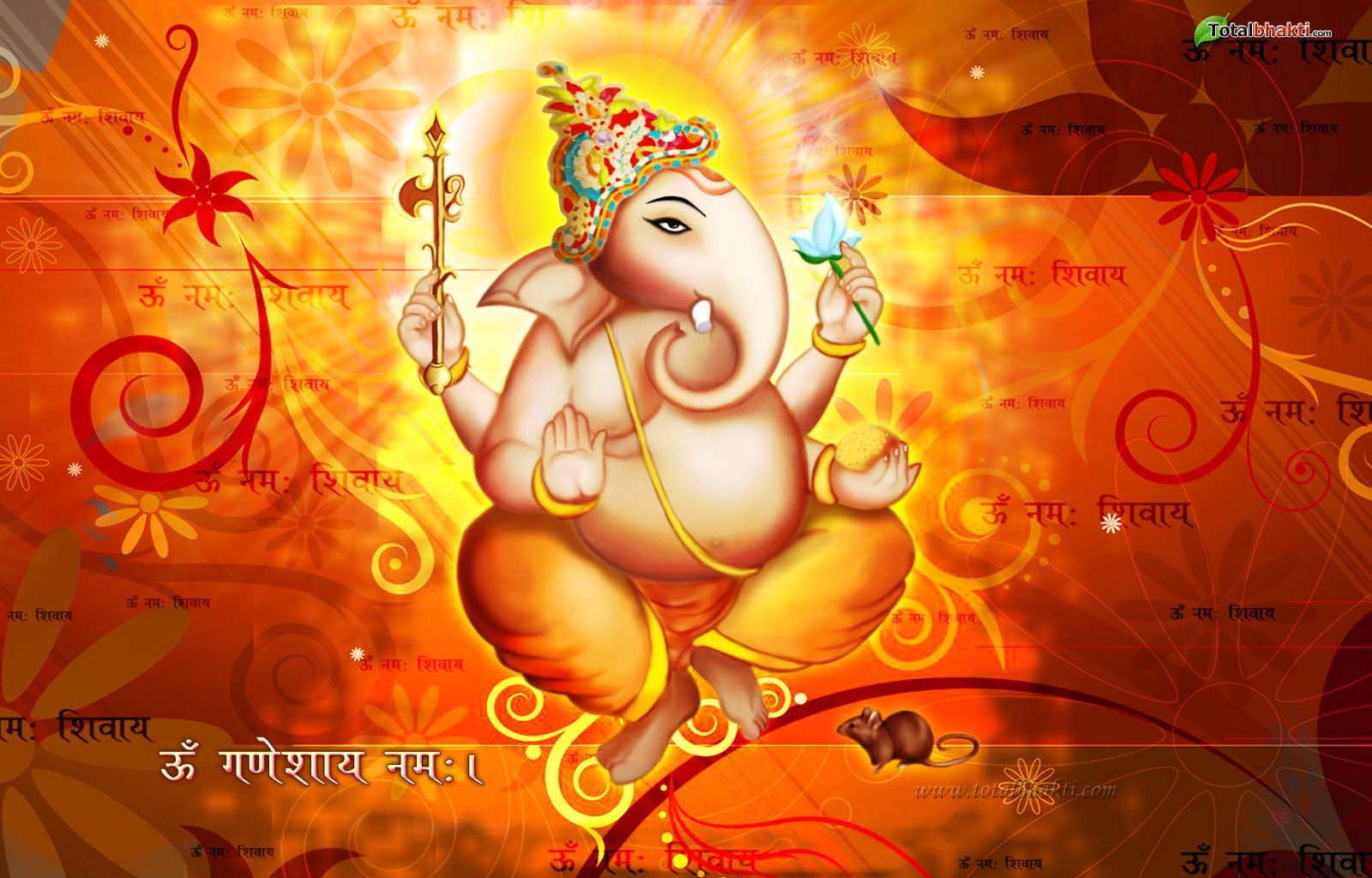 Wallpaper download ganesh - Festivals Wallpaper Hindu Wallpaper Lord Ganesha Wallpaper Orange Red And Yellow Color
