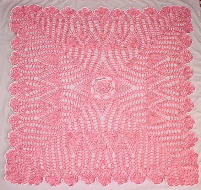 Ravelry: Heirloom Baby Blanket pattern by Joyce Nordstrom | Projects ...