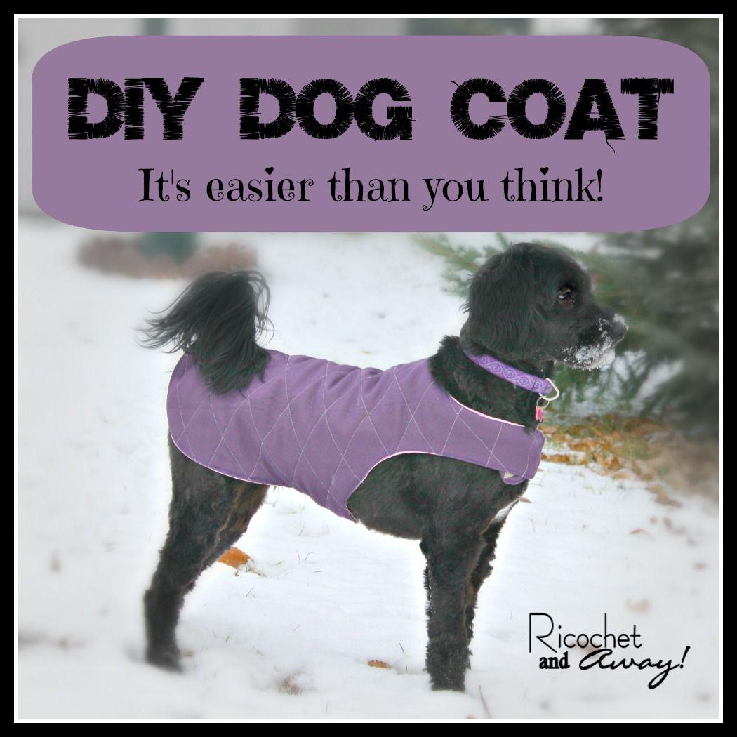 DIY DOG COAT   ropa para perros   Pinterest   Hunde, Nähe und Bunt