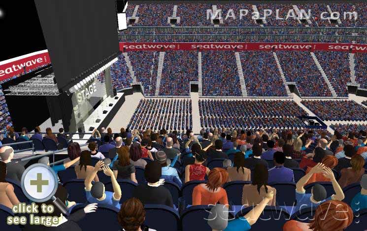 The o2 arena london seating plan block 402 row k full for 02 arena london floor plan
