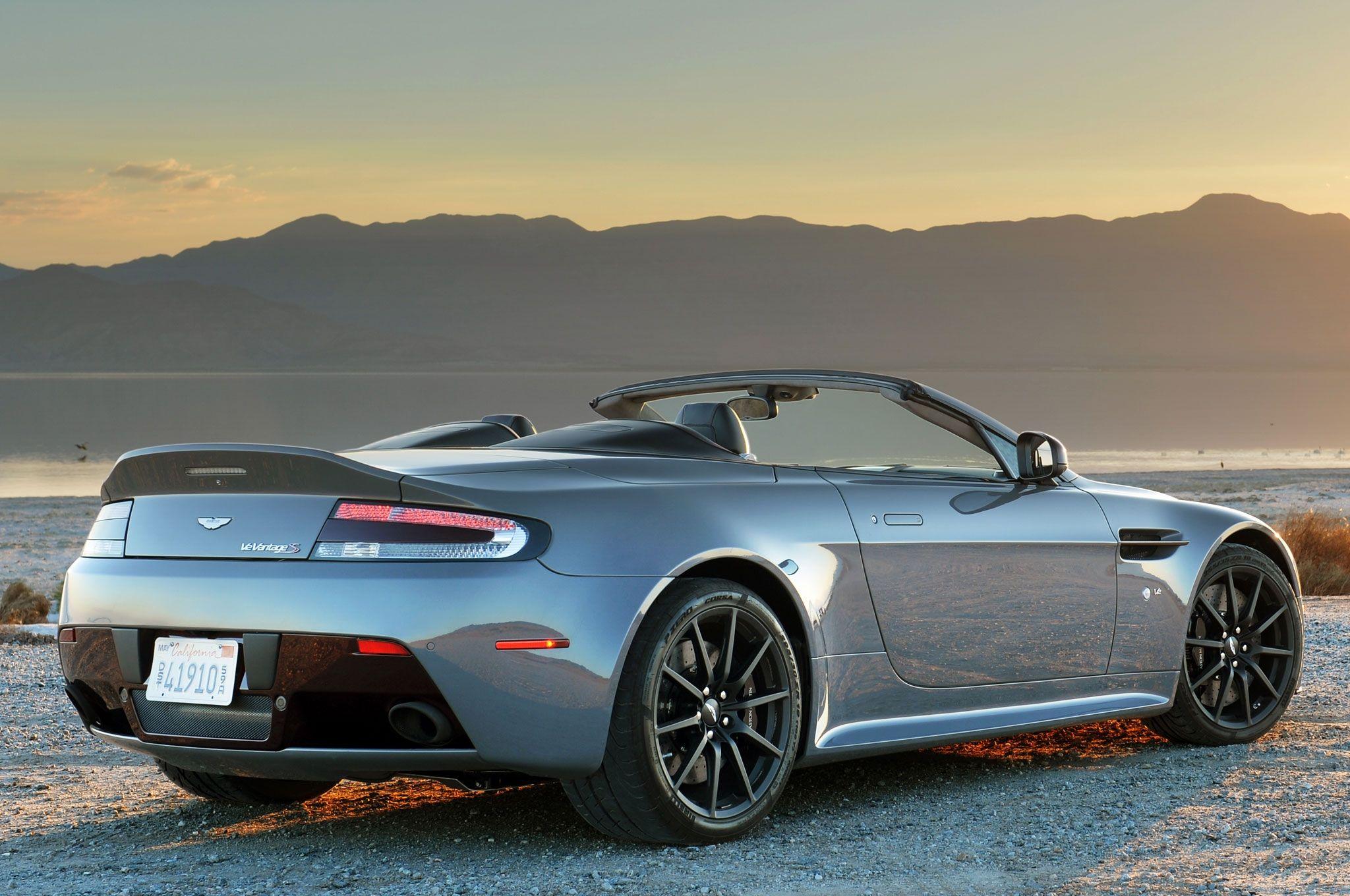 2015 Aston Martin V8 Vantage S Roadster Rediseño Detalles