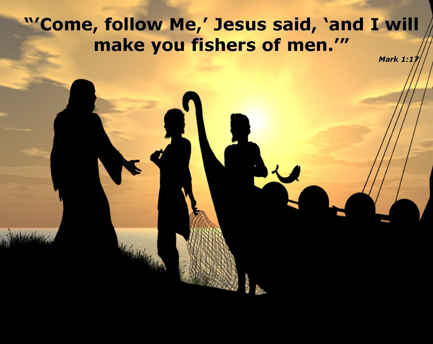Fishers of men favorite quotes scripture verses for Teach a man to fish bible verse
