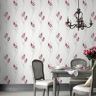 Papier Peint Floral Effet Argente Home Decor Decals Decor Home Decor