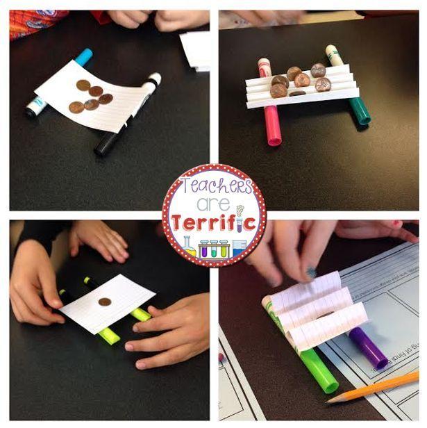 STEM Challenge Bridges With Index Cards