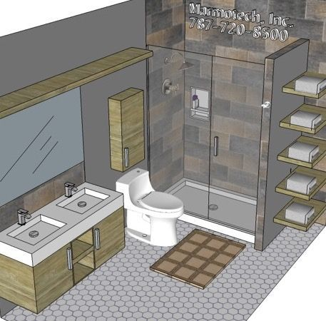 Image Result For 6x10 Bathroom Layout