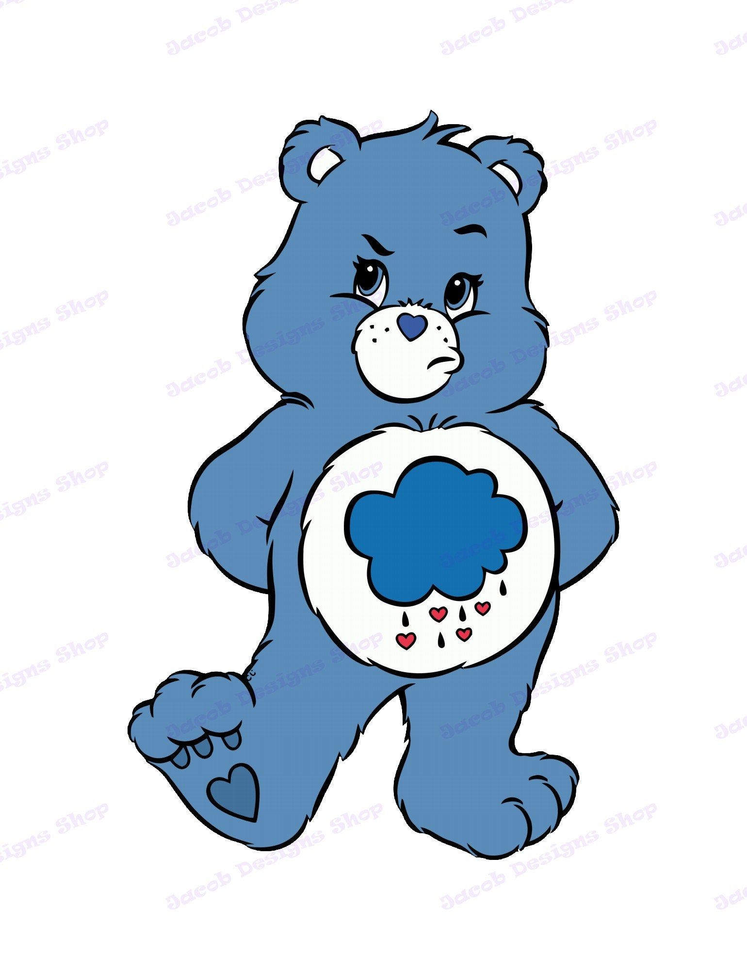 Care Bears SVG 30, svg, dxf, Cricut, Silhouette Cut File, Instant Download
