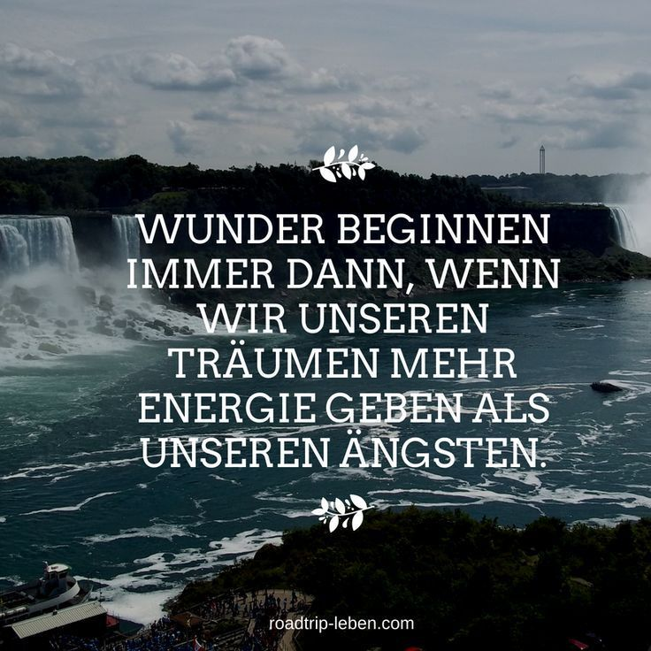 Wunder Beginnen Immer Dann Wenn Wir Unseren Träu