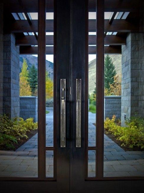 cabin front door hardware - Google Search