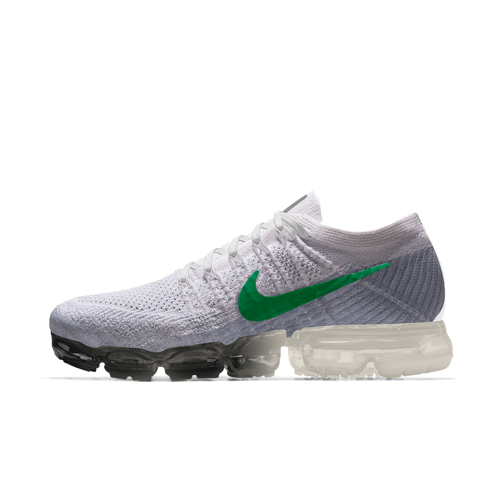 38a120bcd24 Nike Air VaporMax Flyknit iD Women s Running Shoe Size 8.5 (White ...