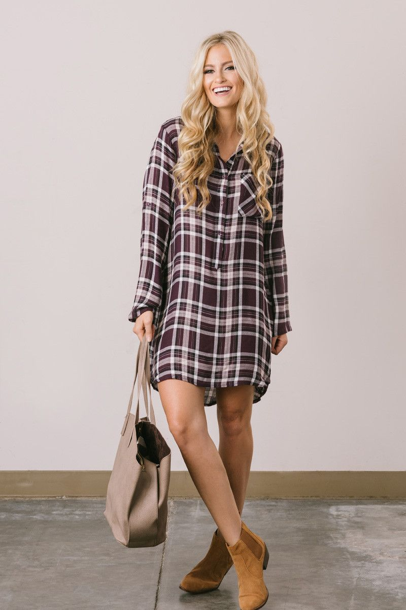 Casual Dresses, Simple Dresses – Morning Lavender, Casual ...