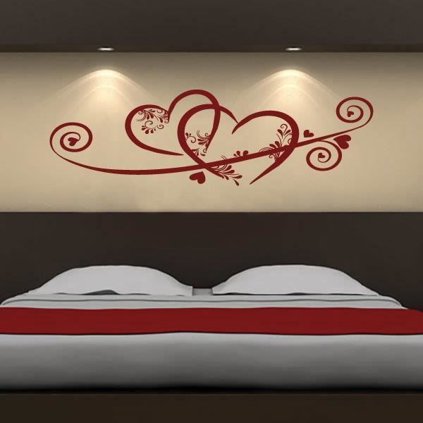 Stickers muraux chambre adulte recherche google for Pochoir mural design