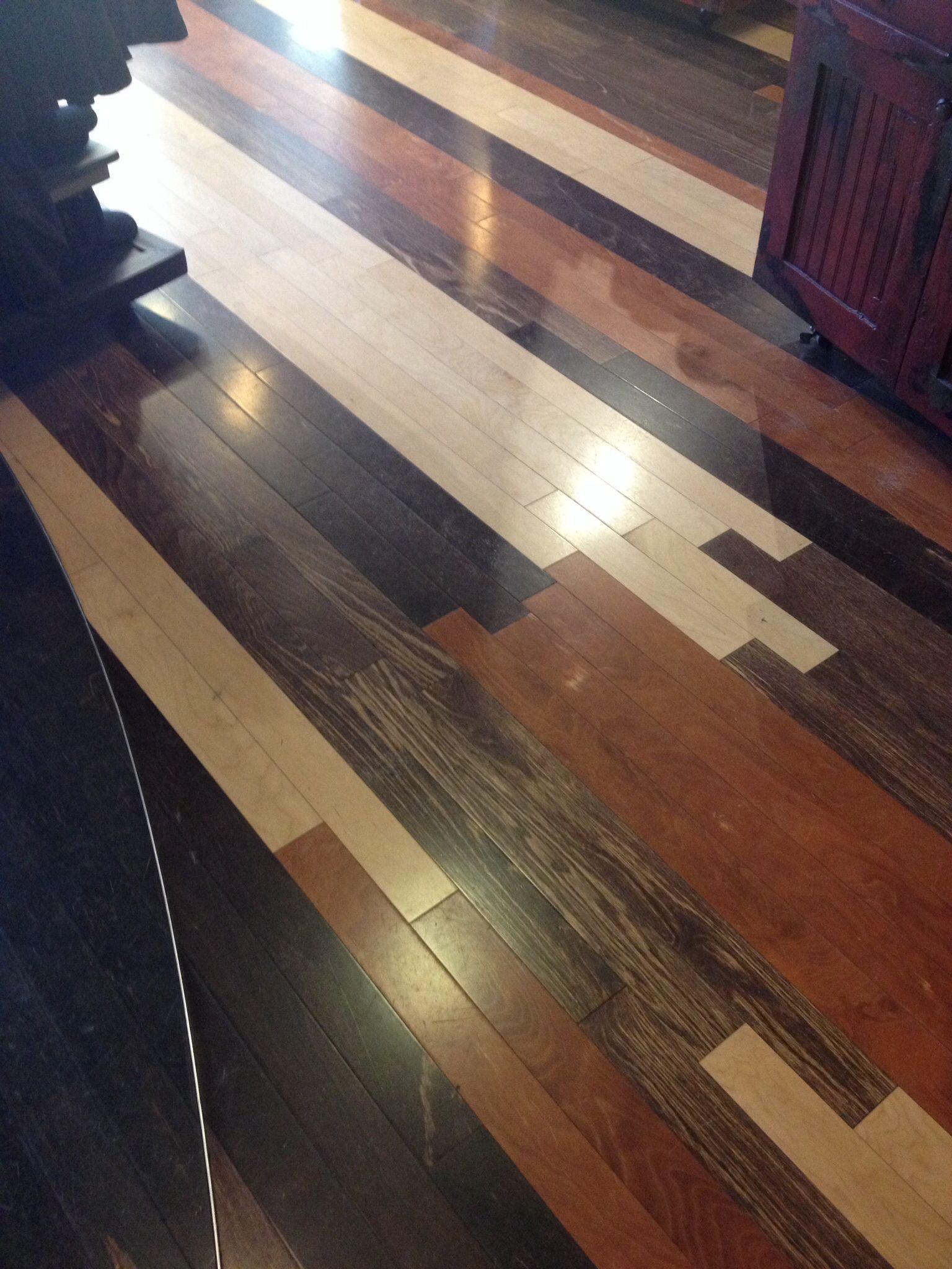 Multi Colored Wood Flooring