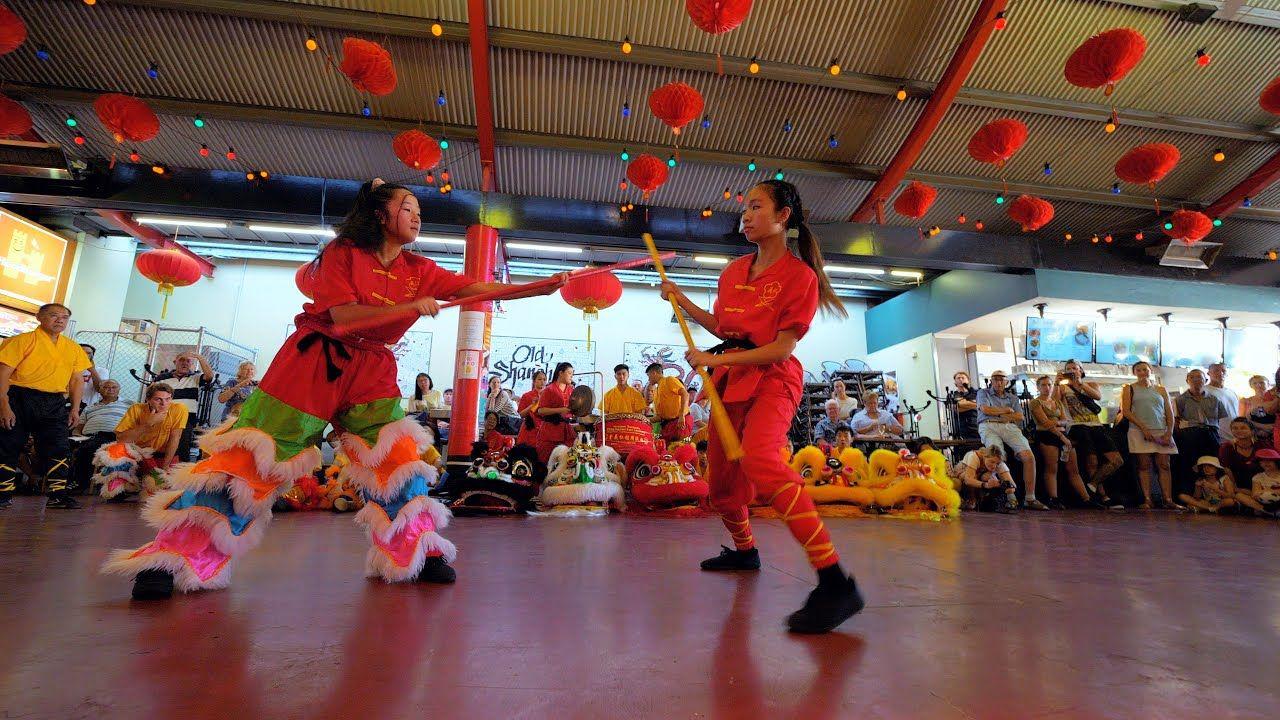 KungFu Chinese New Year Celebration Old Sanghai CNY Perth