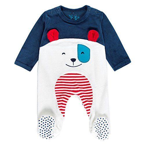 38940d108 Boboli Baby Boys  Velour Play Suit for Bodysuit