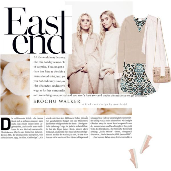 east end by punnky on Polyvore featuring moda, Brochu Walker, KG Kurt Geiger and Chloé