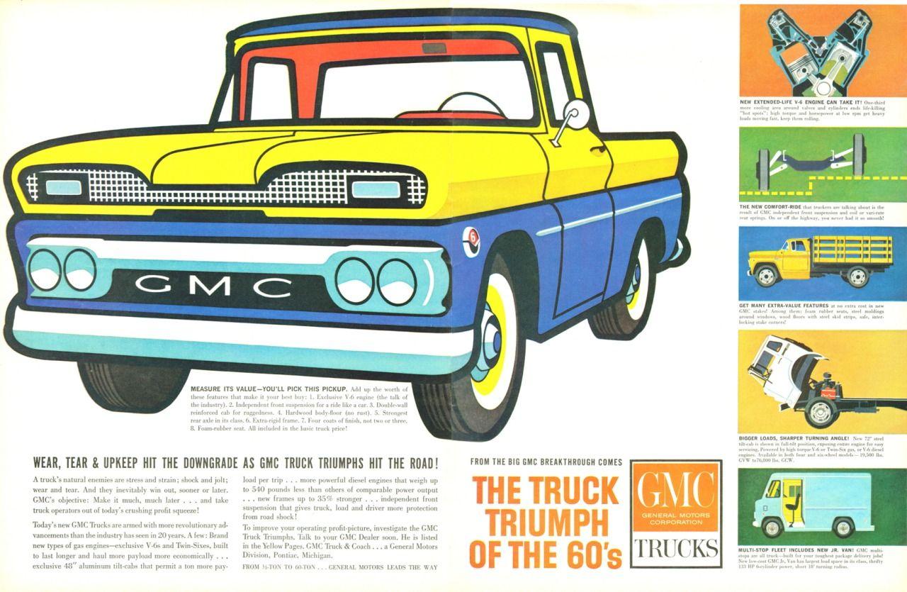 1961 GMC Truck | 1960\'s GMC truck | Pinterest | GMC Trucks, Gmc ...
