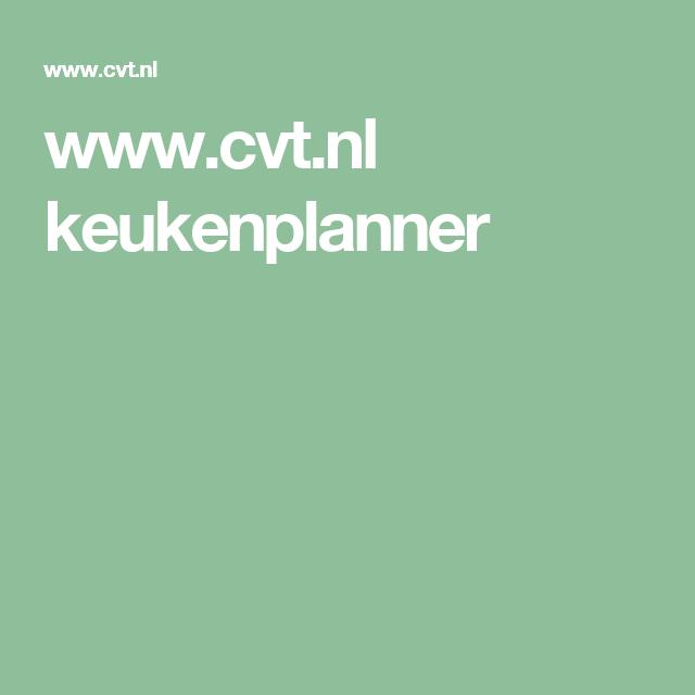 www.cvt.nl keukenplanner