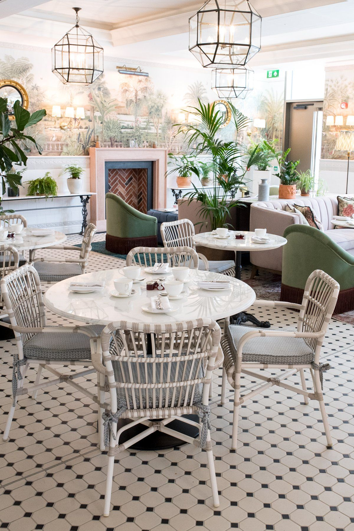 Interiors I Love Afternoon Tea At The Tamburlaine Hotel In