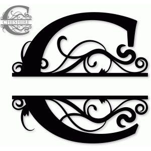C Monogram Monogram Logo Monogram Fonts Silhouette Design
