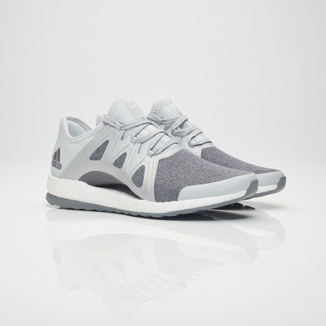 4a8acd014fdc3 NEW Adidas Pure BOOST Xpose Running Size 8 Clear Gray Metallic Silver  BB1734  adidas  LowTop