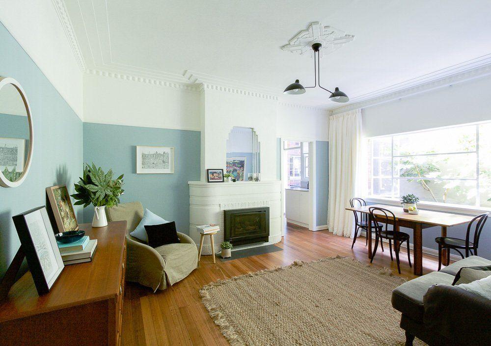 Joanne 39 s 1940s art deco apartment renovation 1940s art for Apartment design melbourne