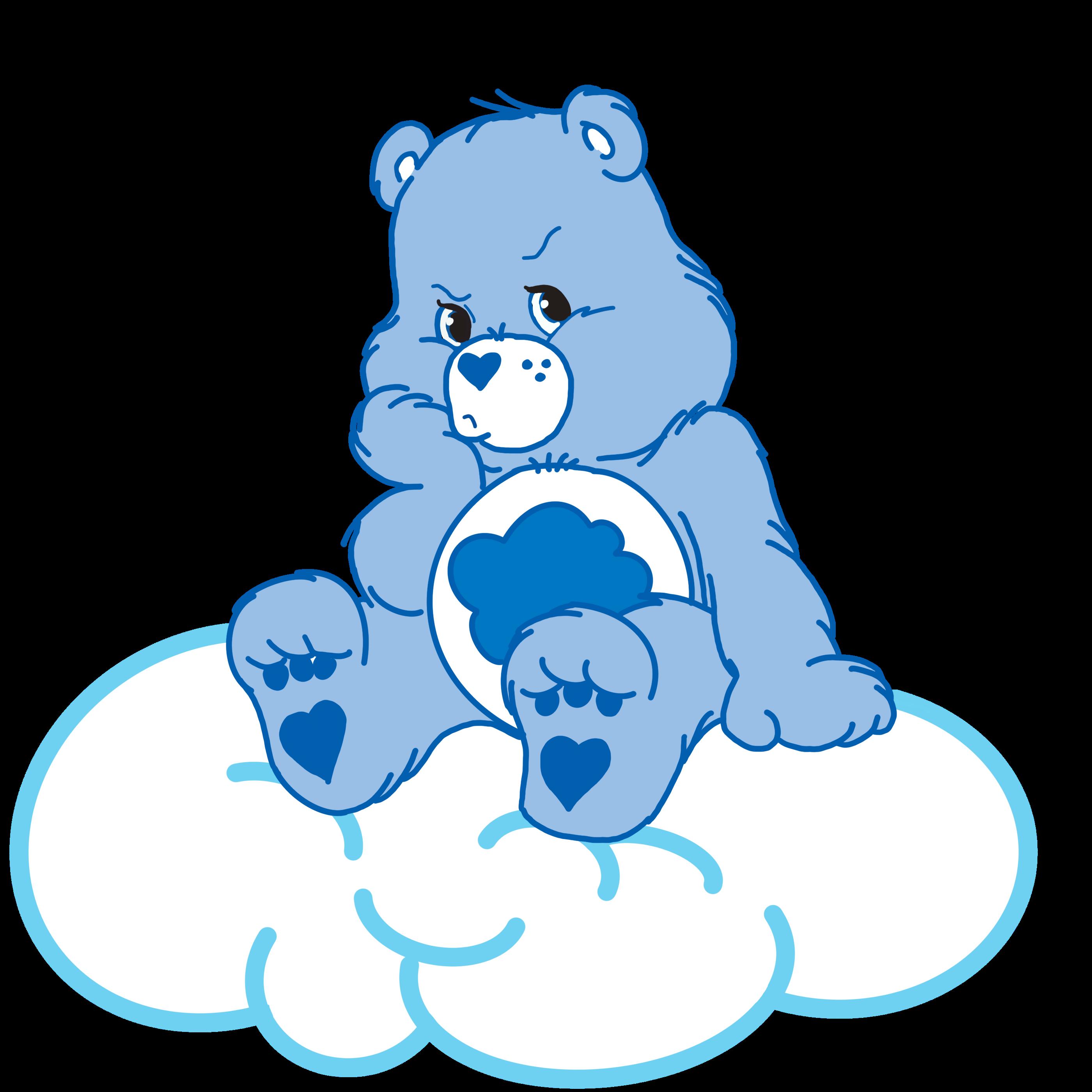 Grumpy Bear Pouts Care Bear Tattoos Bear Wallpaper Grumpy Care Bear
