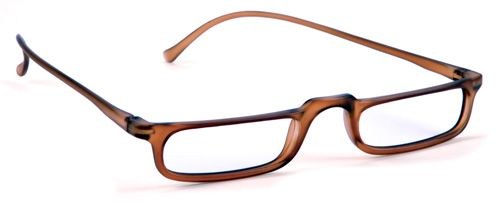f0fffe998ed Trendies 128 Men s Half Reading Glasses  Brown   28.22