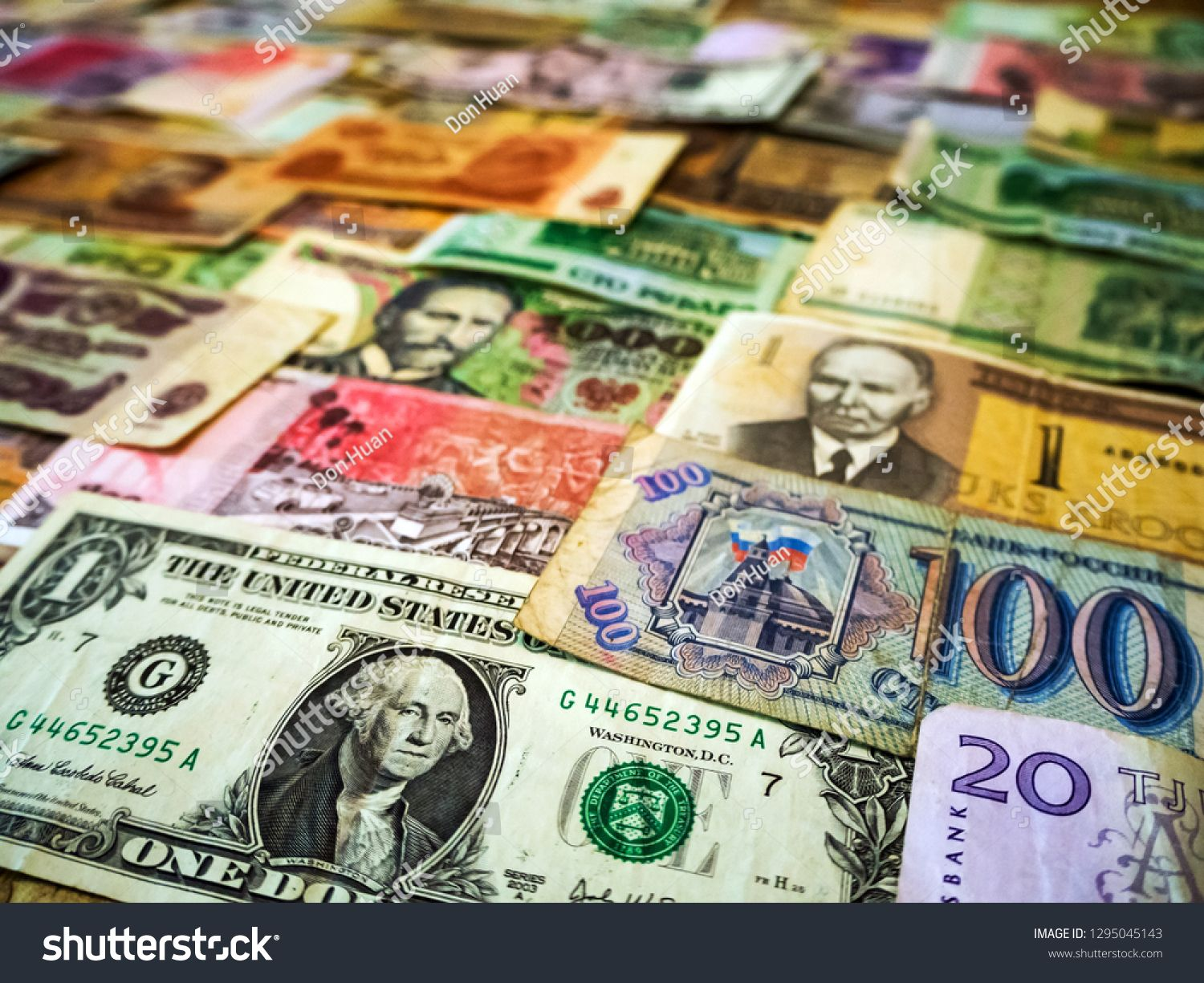 Real International Banknotes From World Major Countries Financial Economy Background For Desktop Wallpaper Money Texture Lots Wad Bank Notes Currency Majors