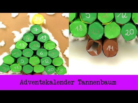 Adventskalender Tannenbaum Adventskalender Diy Mit