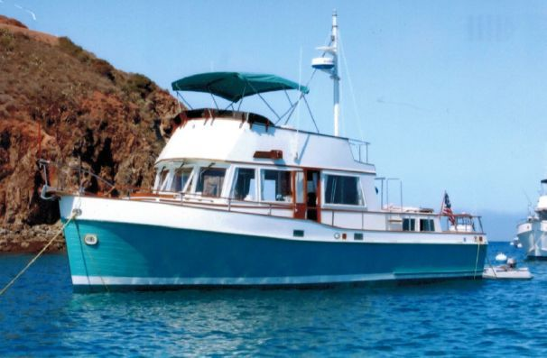 Sold 1969 Grand Banks 42 Classic For Sale In Long Beach Ca Grandbanks Trawlers Classic Boats Classic Boats For Sale Classic Yachts