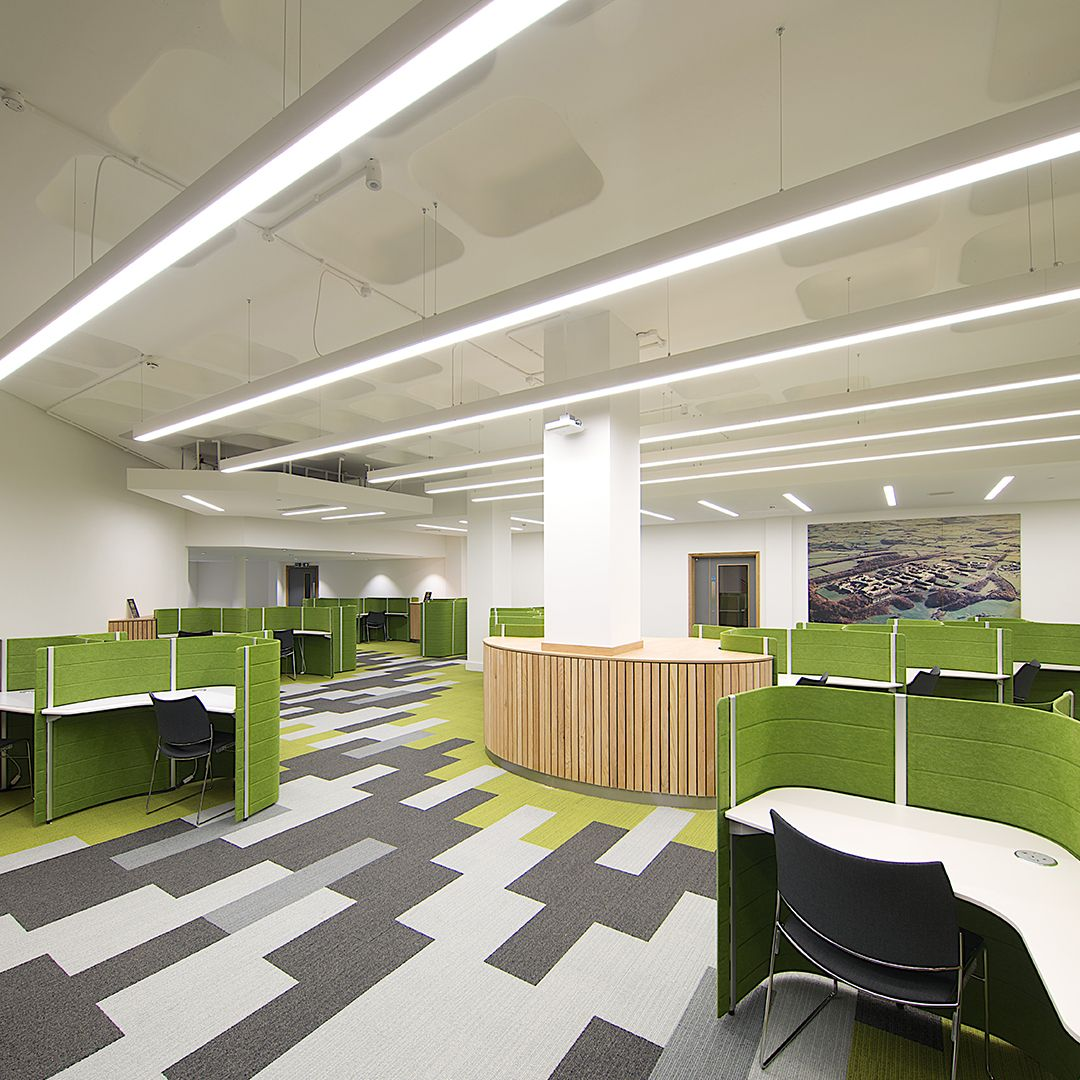 Lancaster University Completes Their Library Refurbishment An