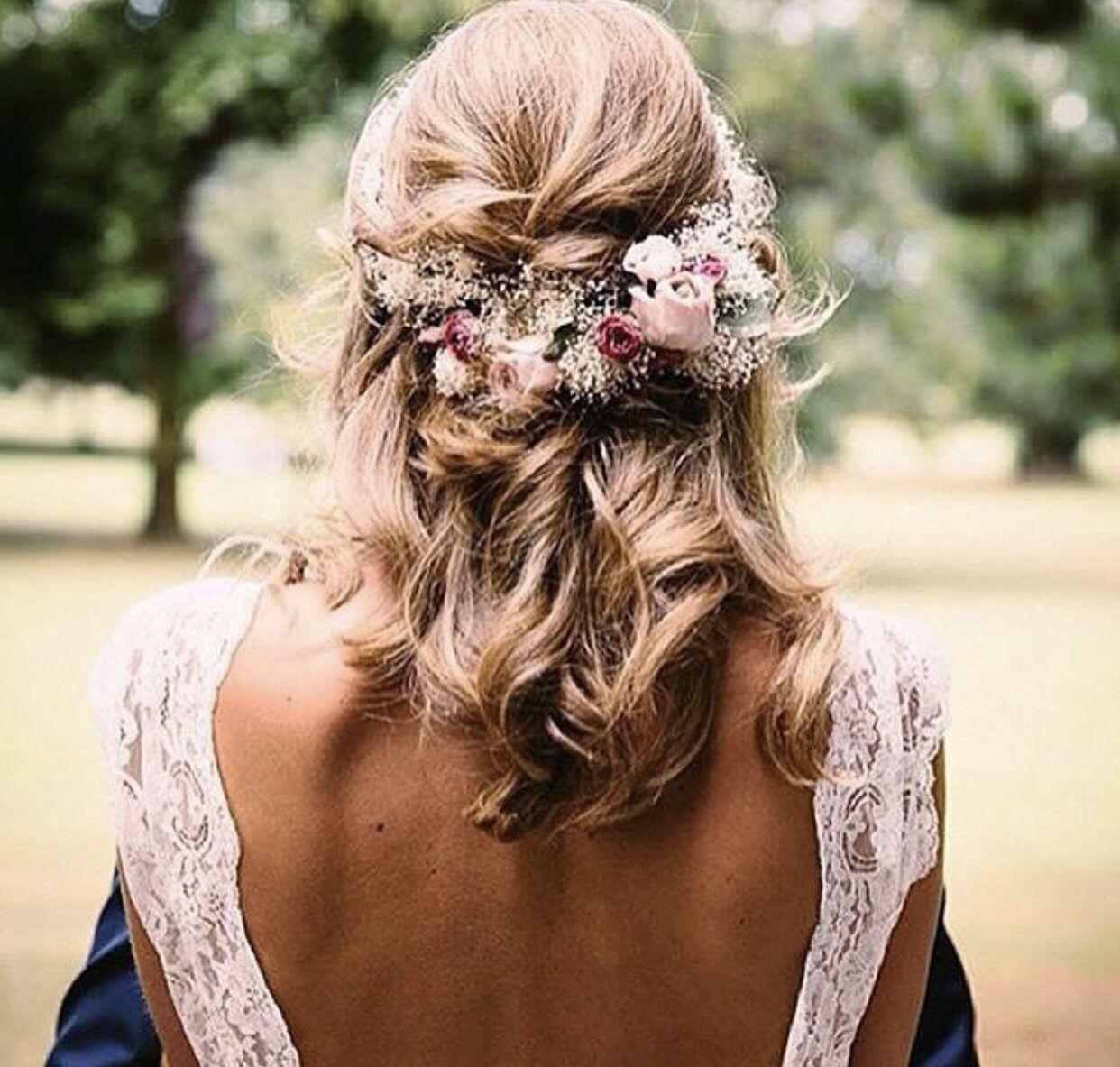pin von sydney landstrom auf wedding | frisur hochzeit