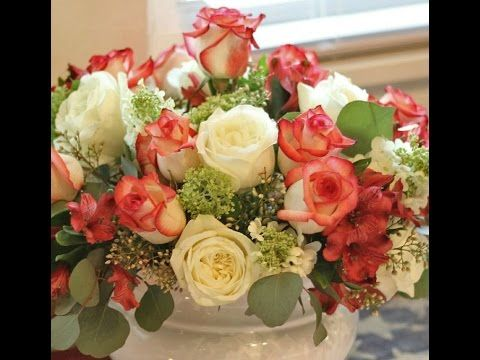 How to Make Floral Arrangements - EASY tutorial from Jennifer Decorates.com