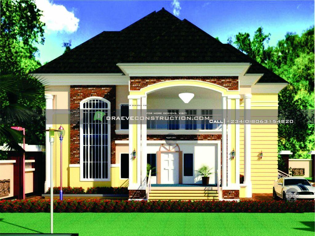 5 Bedroom Duplex Design In Nigeria Duplex Design House Plan Gallery Modern House Exterior
