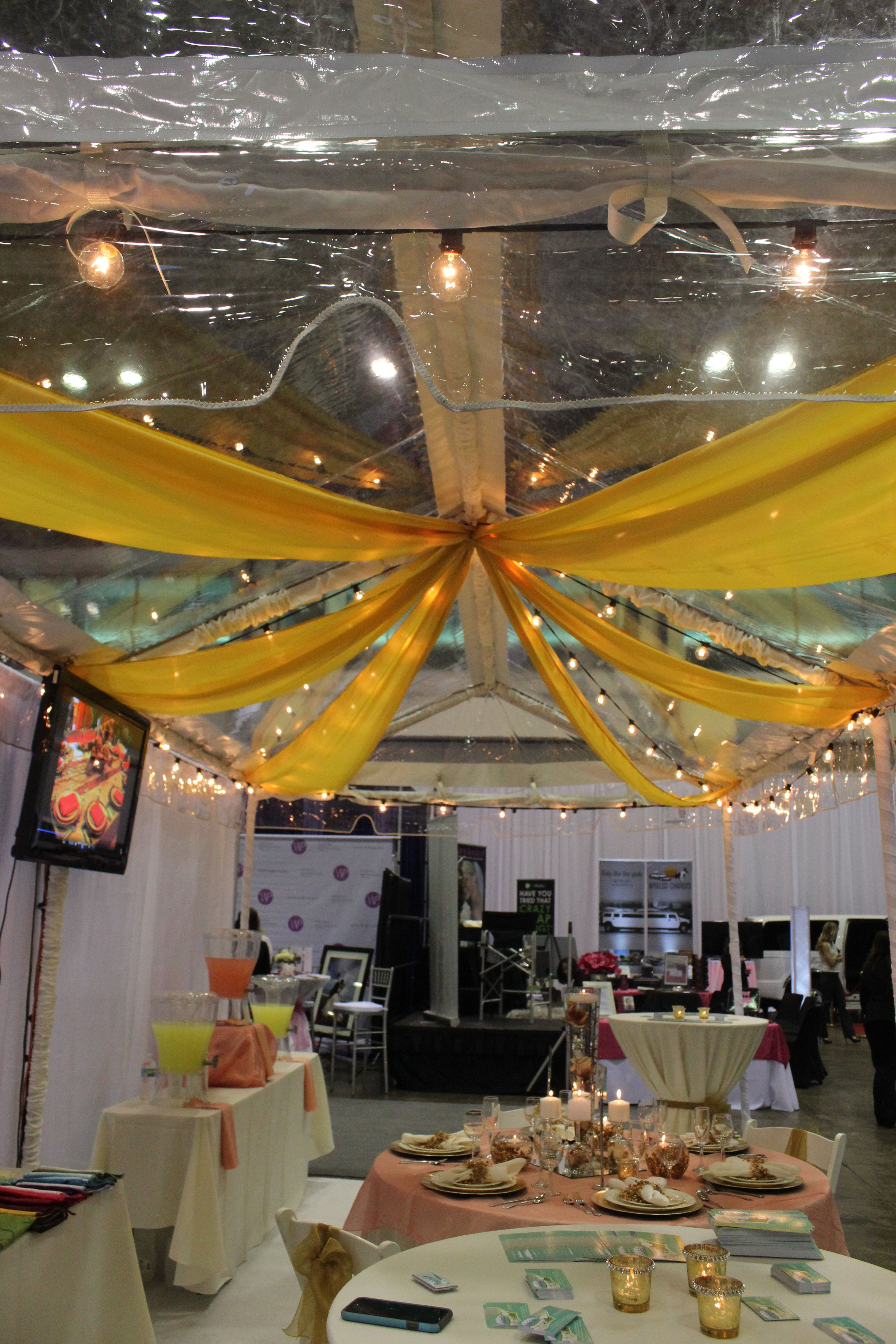 Want to add some color to your wedding tent ask us about colored home wedding supplies orlando wedding rental party tent rental orlando wedding party tent junglespirit Images