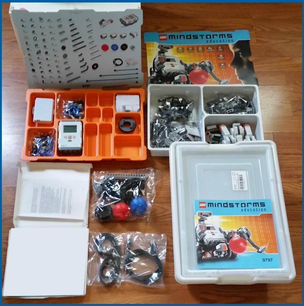 LEGO Mindstorms Education Base Set 9797 Nxt Programmable Robotics