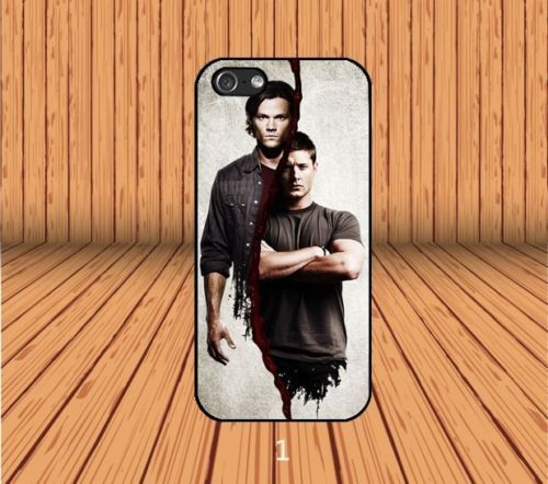 Supernatural Dean And Sam Winchester for iPhone 5/5S/SE Hard Case Cover #designyourcasebyme