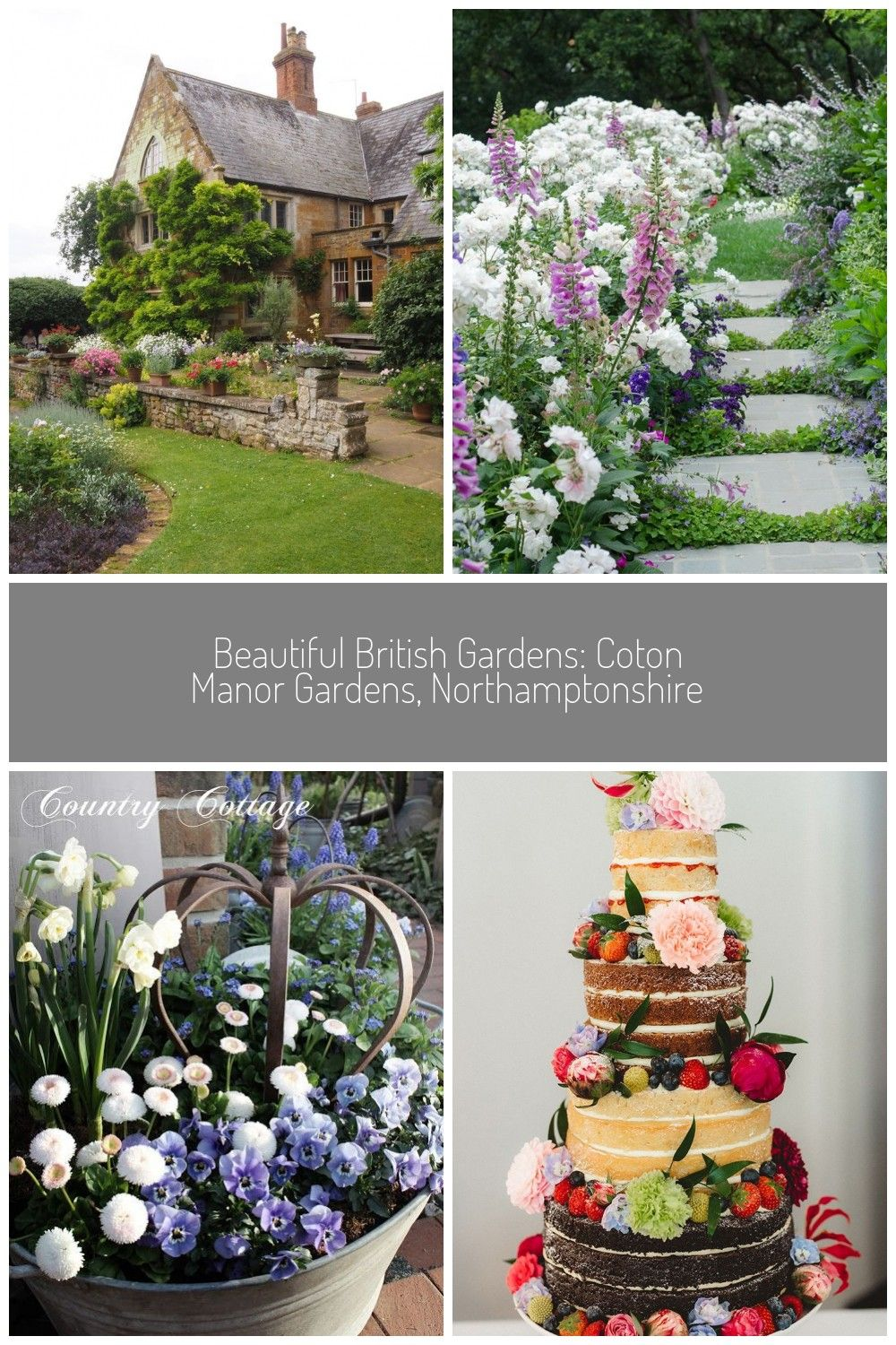 England Travel Inspiration  Beautiful British Gardens Coton Manor Gardens Northamptonshire is a must see classic English Country Garden garden Beautiful British Gardens C...
