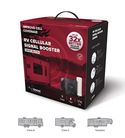 WeBoost Cell Signal Booster + GLocal Me Mobile Hotspot ...