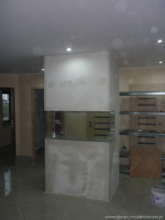 Realizacja wnętrza domu Zgrabny z MG Projekt.  #akwarium #interior #dom#wnętrze