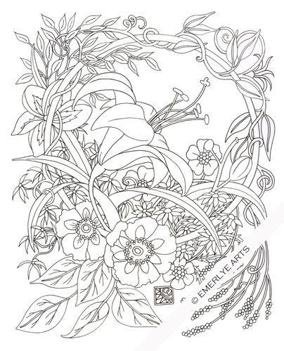 Pin von Sergey Paramonov auf Floral patterns   Pinterest   Abstrakte