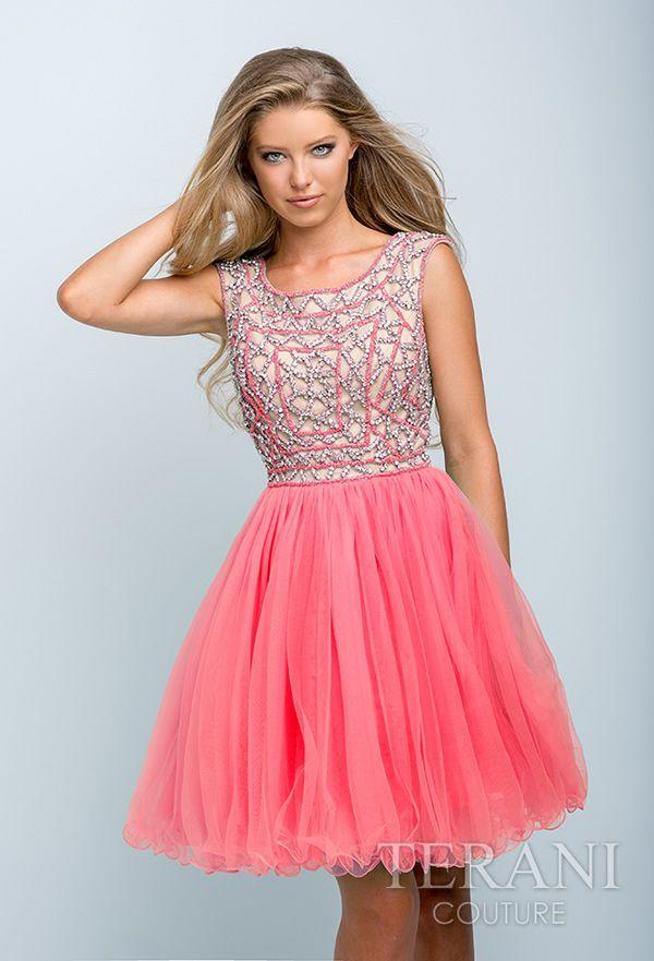 Vestidos de quinceañera cortos 2015 de Terani Couture | cumple La ...