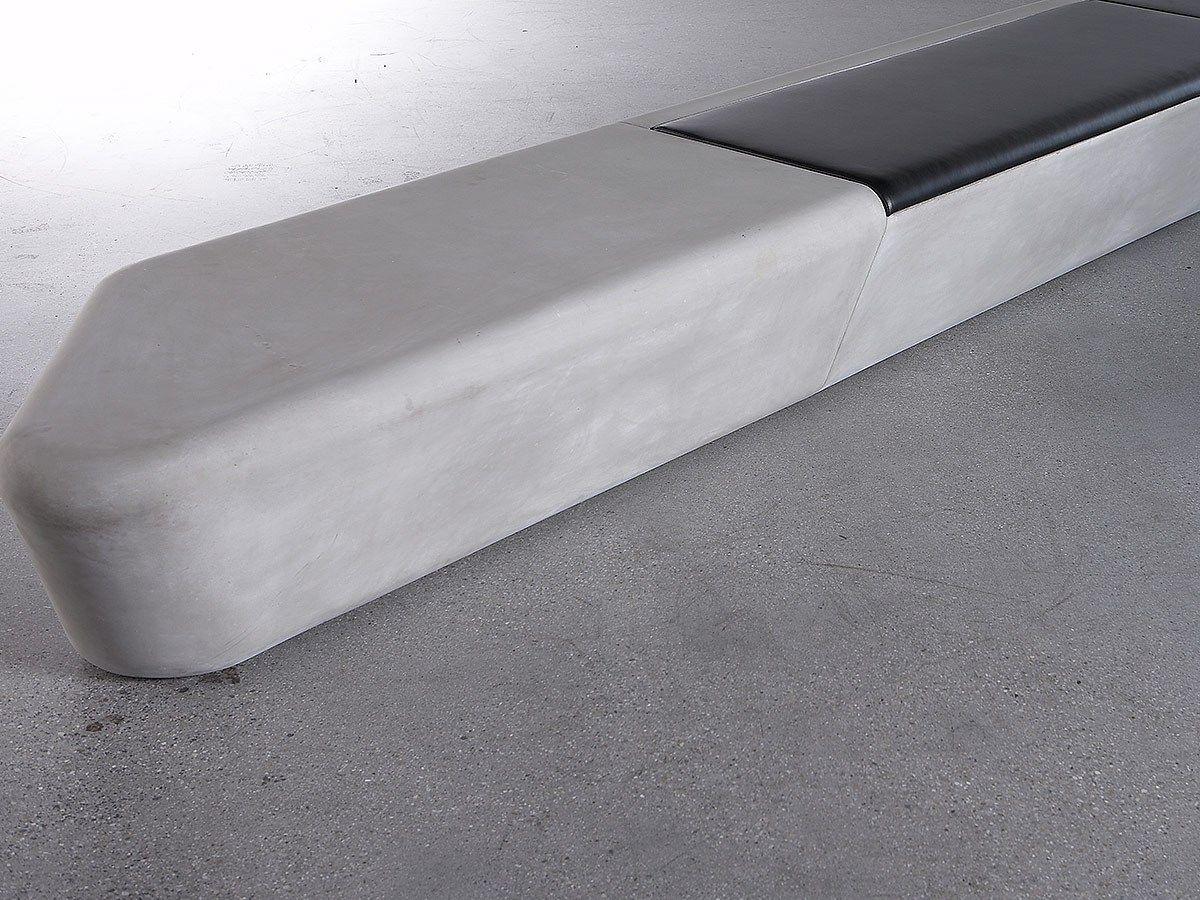 Concrete Rudolph panchina modulare in grc arpa by concrete design design