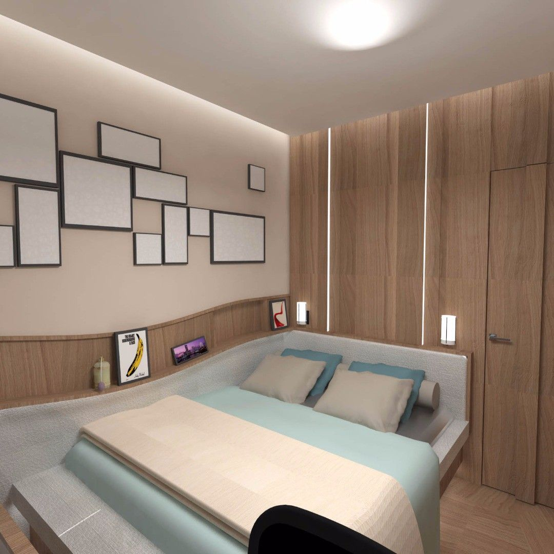 Small Bedroom Apartment Ideas, Residential Interior Design