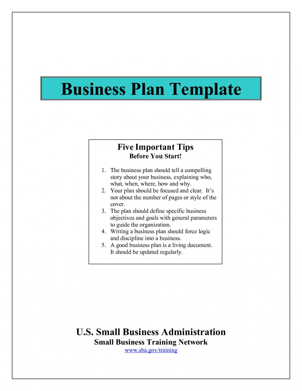 How To Write Business Plan Updated For Bplans Ar Template