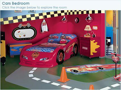 Remove bedroom carpet paint the floor flooring diy for Disney pixar cars bedroom ideas