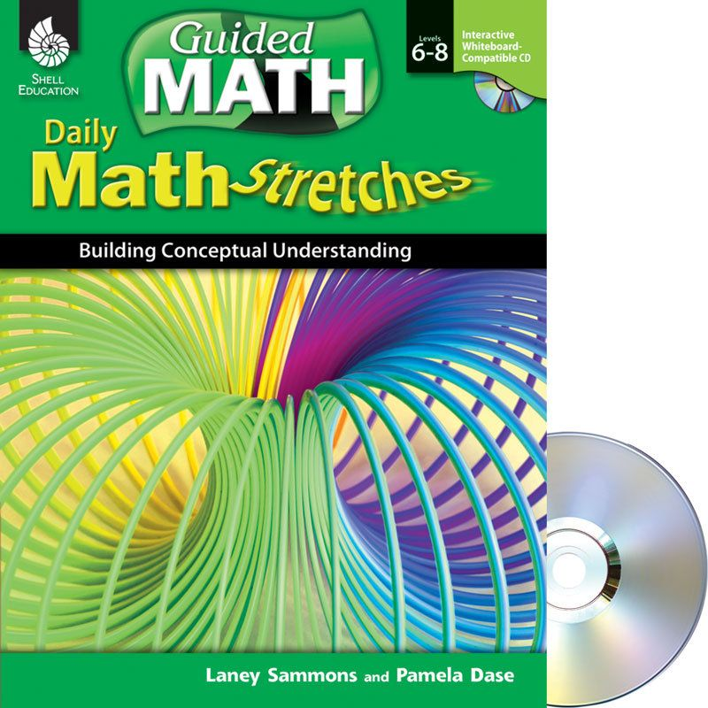 Daily Math Stretches: Building Conceptual Understanding Book And IWB CD – Levels $25 check out